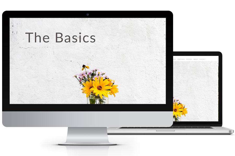 the basics website design plan